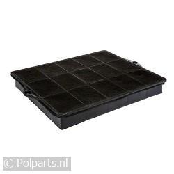 Filter koolstof 23x29cm -schroef-