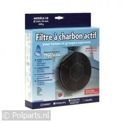 Filter koolstof 240x34mm