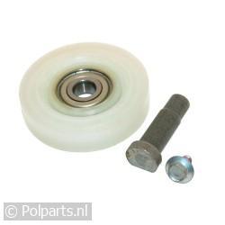 Loopwiel voor trommel met as -asgat 11mm- C00272906