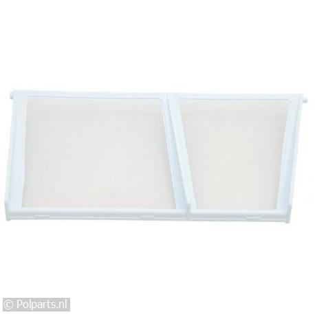 Filter in deur -schuine zijde-