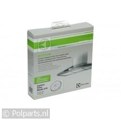 Filter koolstof rond model -bajonet-