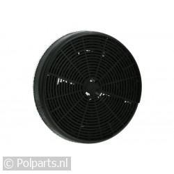 Filter koolstof rond 18cm