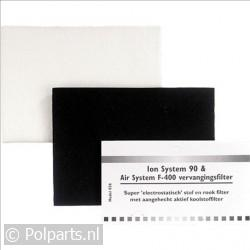 Filter elec. statisch stof/rook