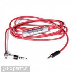 Sennheiser NF kabel rood 3,5jack met afstandsbediening