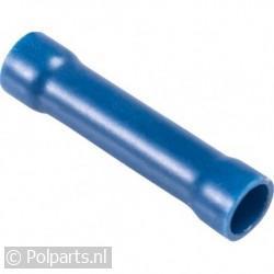 Kabelschoen blauw -verbinder- lang