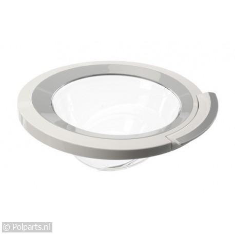 Vuldeur complete deur wit/zilver