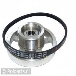 Snaarwiel van motor -aluminium- incl snaar