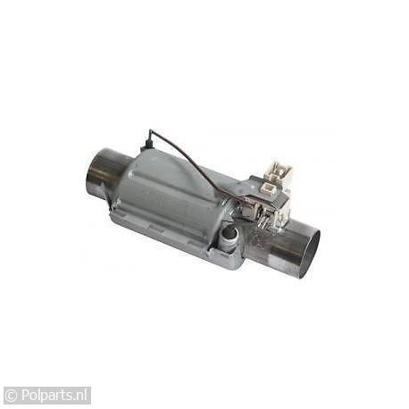 Verwarmingselement cilinder doorstroom
