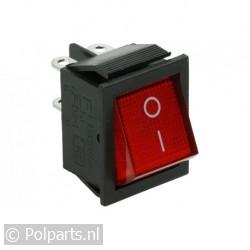 Schakelaar invries -met rood lampje-