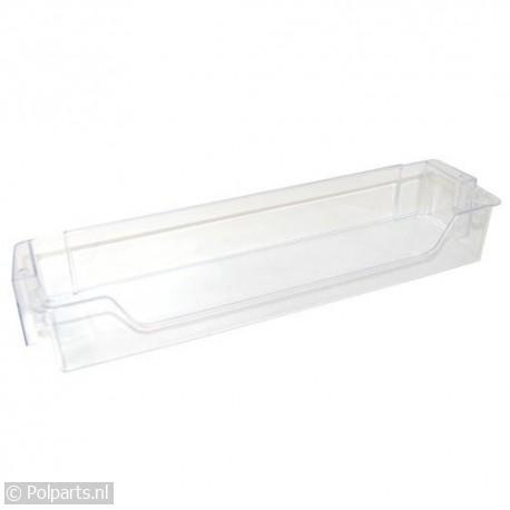 Flessenrek transparant 440x115x65mm