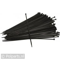 Bundelbandjes 100x2,5 mm zwart