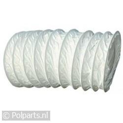 Slang 100mm wit -PVC- 3 meter
