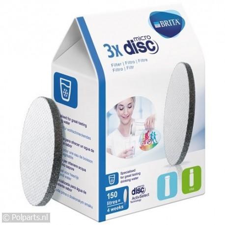 Brita MicroDisc filter -3 stuks-