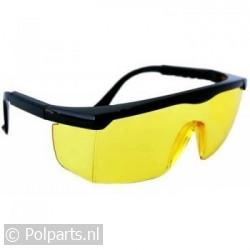 Beschermbril / Veiligheidsbril Profi Gele Glazen