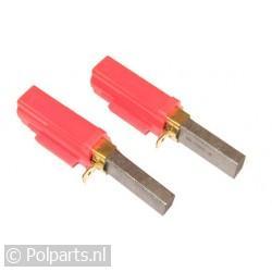 Koolborstel 11x6.1mm in houder -set-