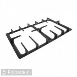 Pannendrager zwart 485x275mm 2 pits C00085446