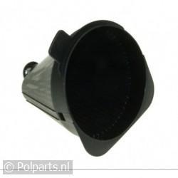 Filterbak van koffieapparaat -zwart-