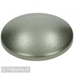 Bedieningsknop zilver
