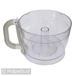 Mengkom transparant 1,5 liter
