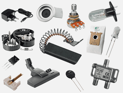 Your supplier in appliances - & (electronics-) repair / replacement / spare parts / components / products /accessoiry - Polparts